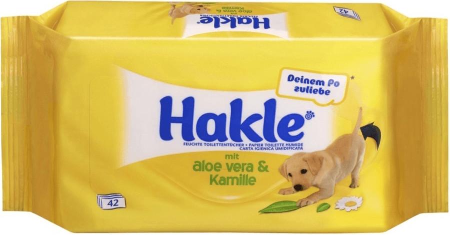 Hakle Feucht Nachfüllpack Aloe Vera & Kamille (42 Stk.)