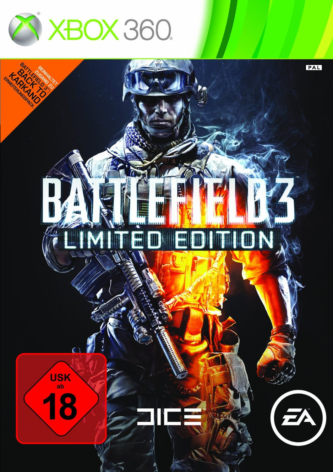 Battlefield 3: Limited Edition (Xbox 360)