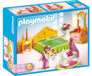 Playmobil prinzessinenschloss schlafgemach mit babywiege for Salle a manger playmobil city life