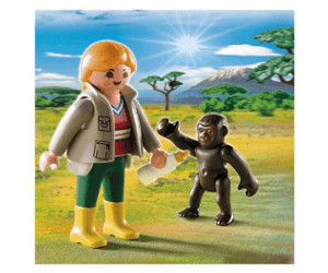 Playmobil Zookeeper with Baby Gorilla (4757)