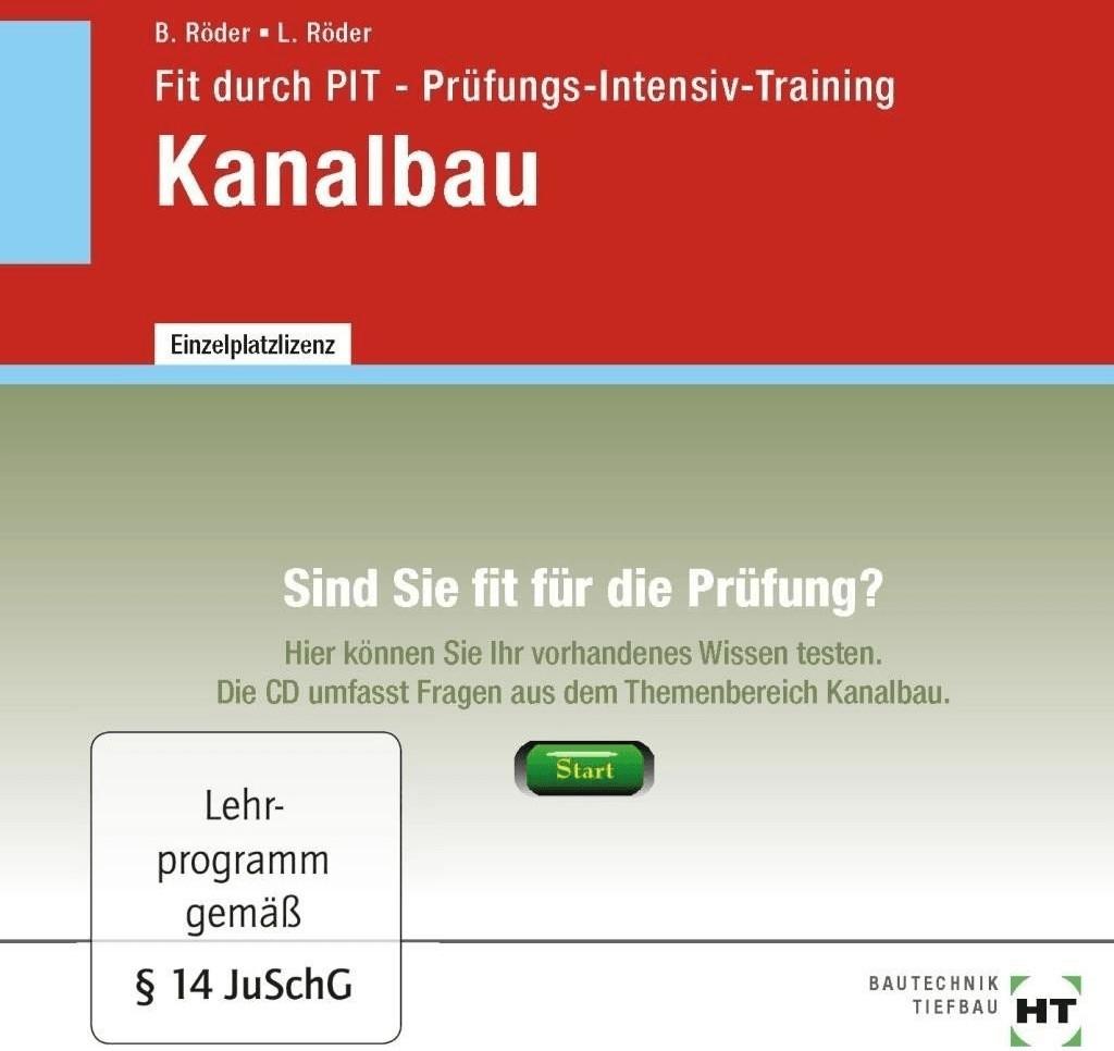 #Verlag Handwerk und Technik Fit durch PIT – Prüfungs-Intensiv-Training Kanalbau (DE) (Win)#