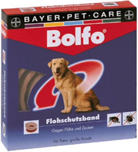 Bayer Bolfo-Flohschutzband braun für Katzen und...