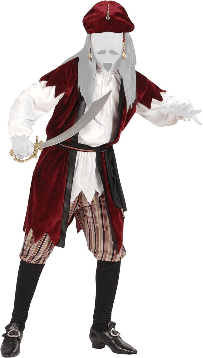 Widmann Kinderkostüm Karibischer Pirat