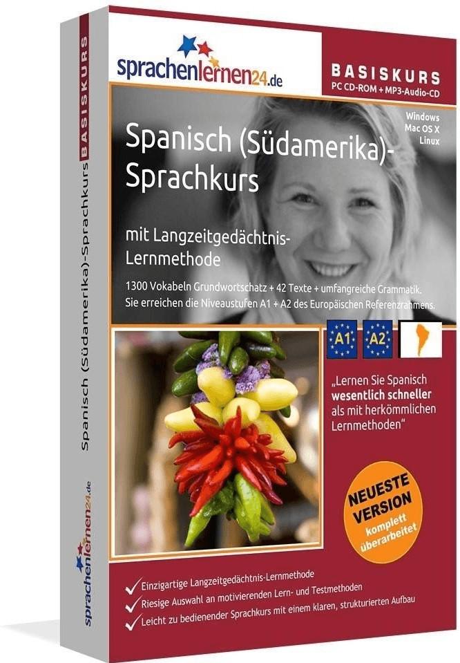 sprachenlernen24 Basis-Sprachkurs: Spanisch (Sü...
