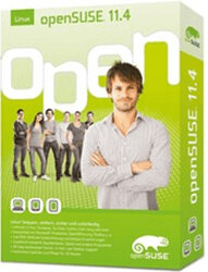 Novell openSUSE 11.4 (DE)