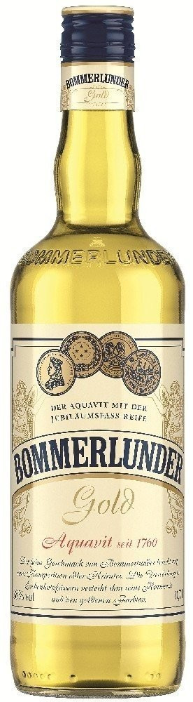Bommerlunder Gold Aquavit 0,7l 38%