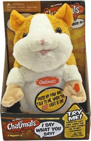 Funny Farm Chatimals - Hamster