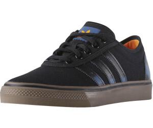 Nouveau homme Adidas Noir Adi-Ease Daim Baskets Skate Lacets