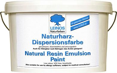Leinos Naturharz-Dispersionsfarbe 660 10 l