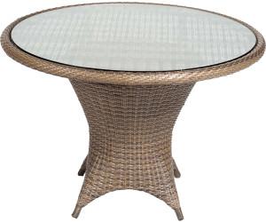 sonnenpartner bonaire tisch 90 cm polyrattan ab 370 00. Black Bedroom Furniture Sets. Home Design Ideas