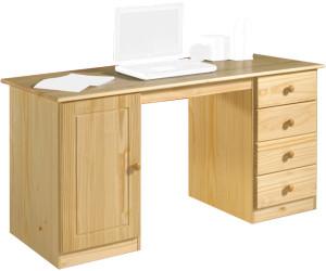 idimex manager schreibtisch kiefer massiv lackiert ab. Black Bedroom Furniture Sets. Home Design Ideas