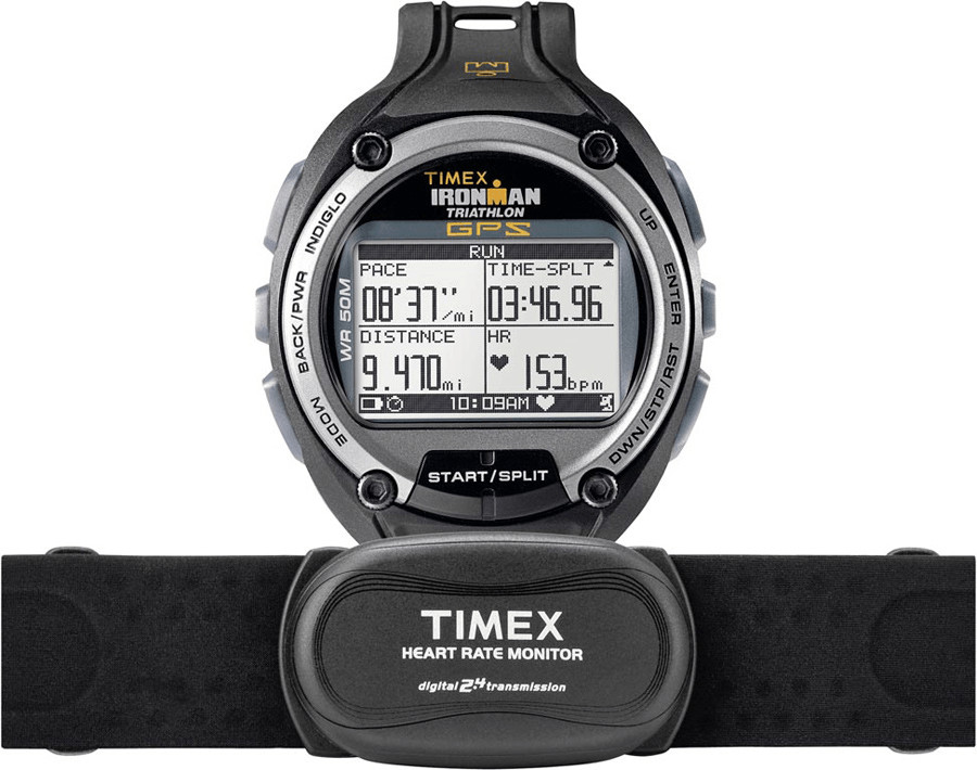 Timex Ironman Global Trainer mit Brustgurt (T5K...
