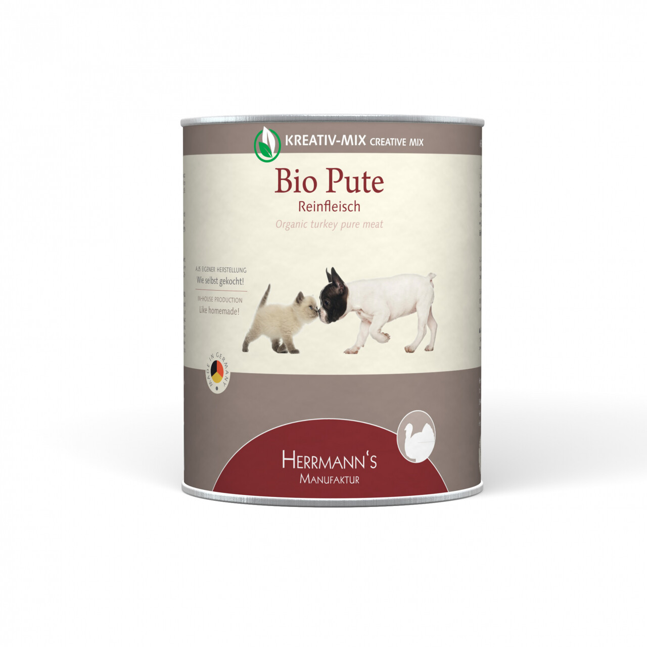 Herrmanns Hundefutter Bio Pute (800 g)
