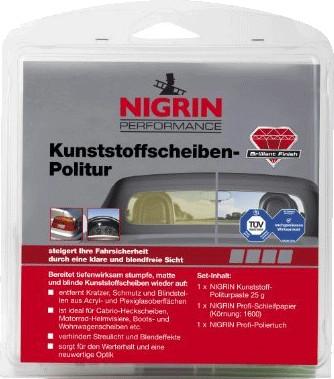 Nigrin Performance Kunststoffscheiben-Politur