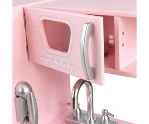 kidkraft retro-küche - rosa (53179) ab ? 160,99 | preisvergleich ... - Kidkraft Weiße Retro Küche 53208