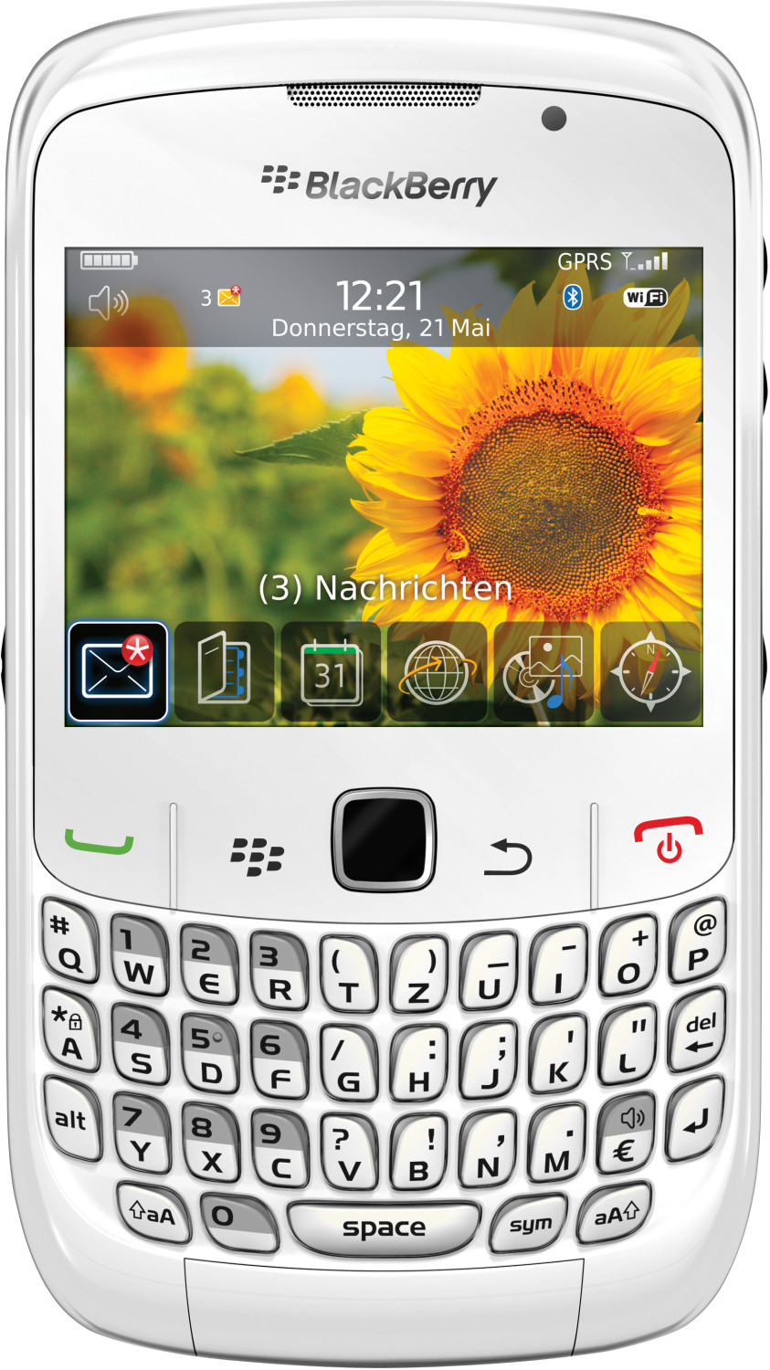 Image of BlackBerry Curve 8520 White