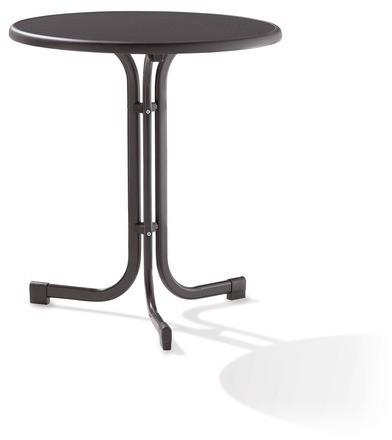 SIEGER 208/G Tisch 70 Cm Grau Eisengrau(Boulev.Gestell)