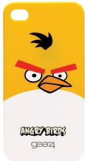 Image of Gear4 Angry Birds yellow (iPhone 4)