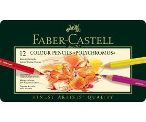 Faber-Castell Polychromos Farbstifte 12er Metalletui