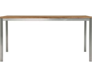 Zebra Greenline Naxos Tisch 220 x 100 cm (Edelstahl-Old Teak) ab ...