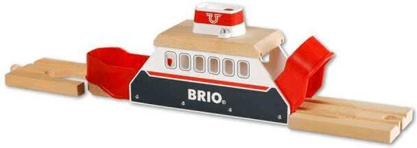 Brio Licht & Sound Fähre rot-weiß (33569)