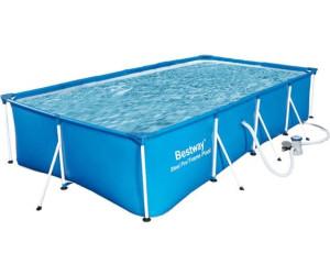 Bestway piscina fuori terra steel frame rettangolare 400 x - Piscina bestway opinioni ...
