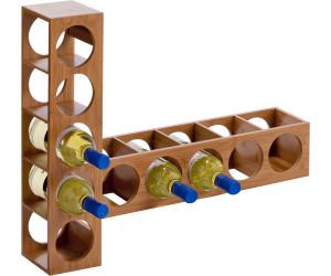 Zeller Casier A Vin En Bambou Au Meilleur Prix Sur Idealo Fr