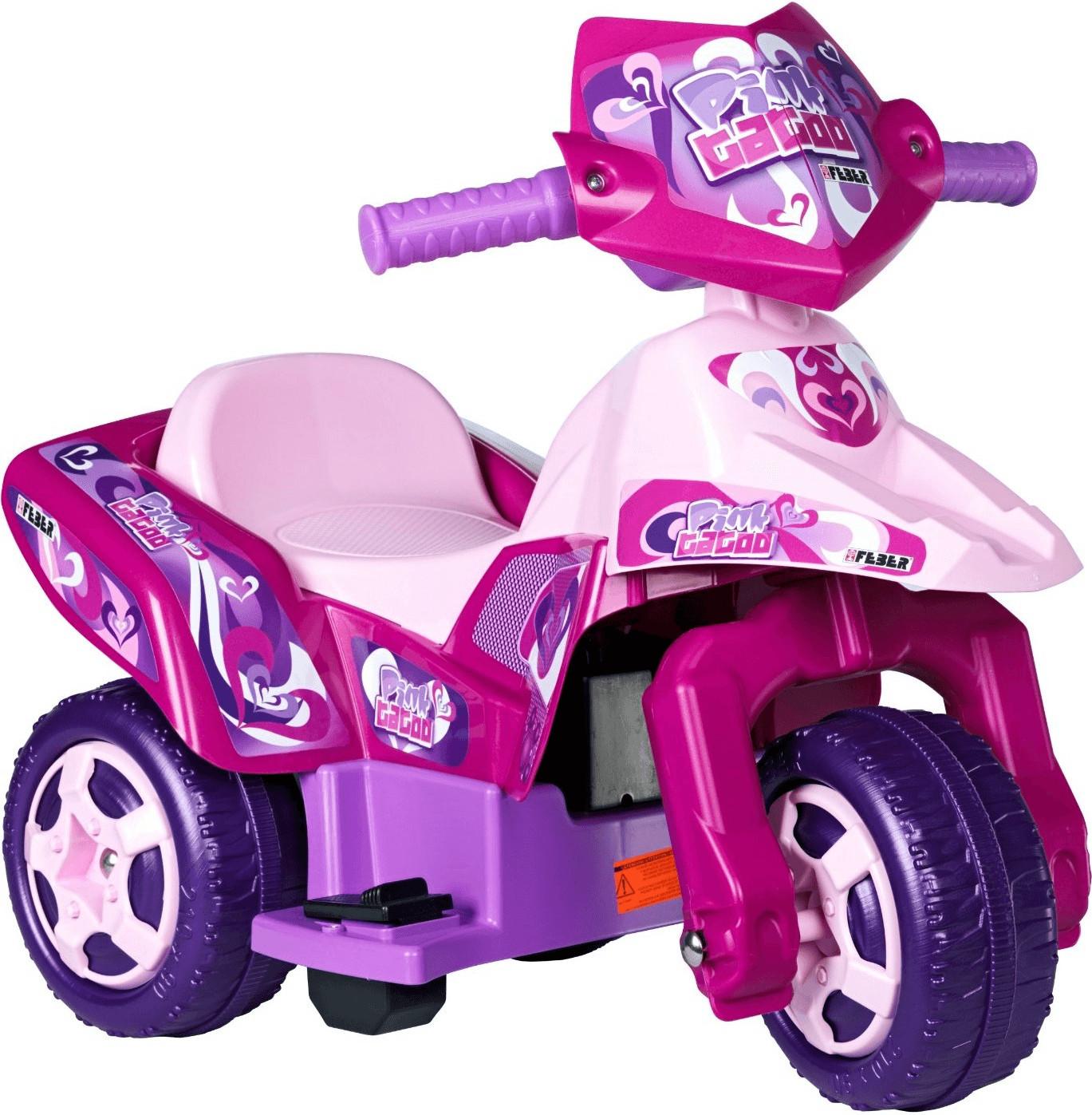 Feber Elektro-Dreirad Pink Tatoo 6V