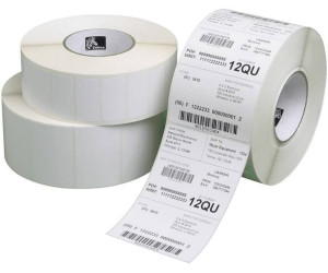 Thermotransfer Etiketten Rolle 2.580 Stück Kern25 mm Zebra GK420T 51 x 25 mm