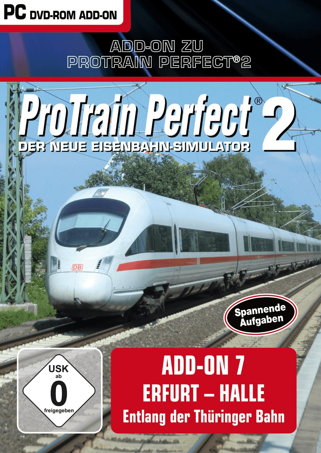 ProTrain Perfect 2: AddOn 7 - Erfurt-Halle (Add...