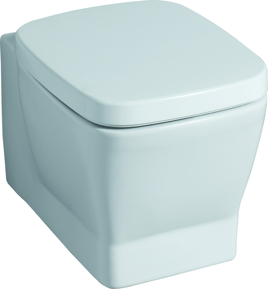 Keramag Silk WC-Sitz (572620)   Bad > WCs > WC-Becken   Weiß   Edelstahl