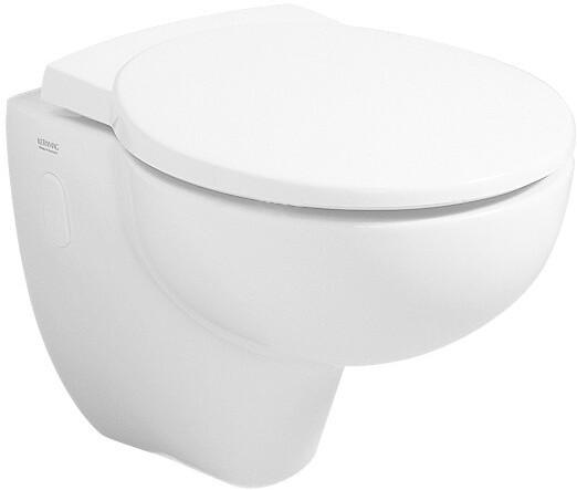 Keramag Joly WC-Sitz (571005)   Bad > WCs > WC-Becken   Weiß   Edelstahl