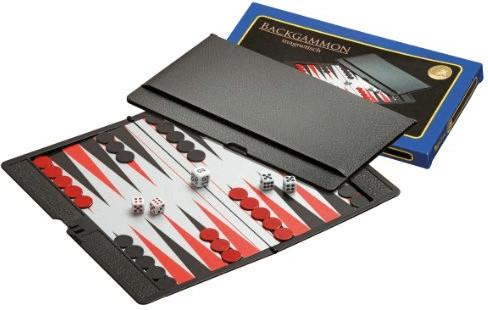 Backgammon Reisespiel magnetisch (6530)