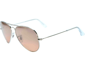 RAY BAN RB 3025 AVIATOR SUNGLASSES (55 mm, 00151 ARISTA CRYSTALGRADIENT BROWN)