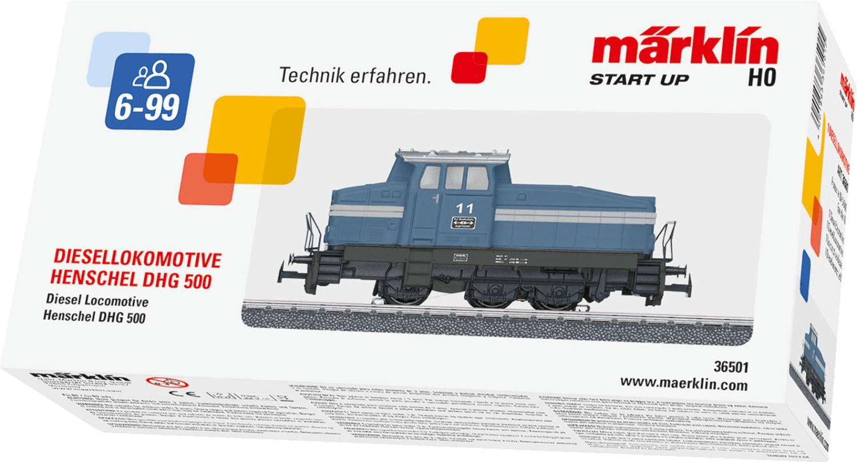 Märklin Diesellokomotive DHG 500 (36501)