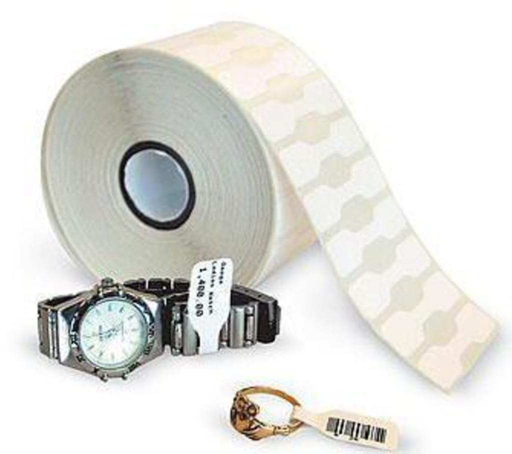#Zebra 8000D Jewelry 56 x 13 mm, 6 Rollen#