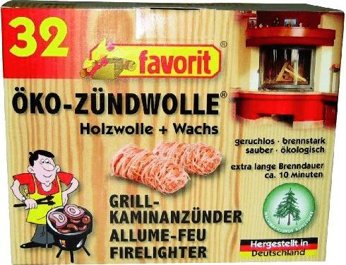 Favorit Öko-Zündwolle 32 Stk. (1228)