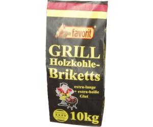 2 x 2,5 kg favorit ® Qualitäts Grill Holzkohle Grillkohle Grillen 2,00€//kg