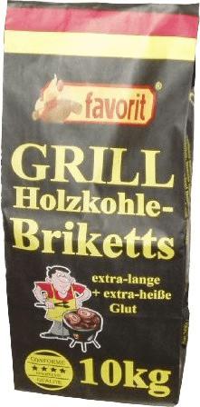 Favorit Grill Holzkohle-Briketts 10 kg (3001)