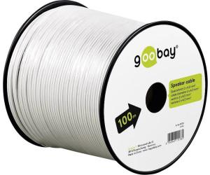 Goobay Lautsprecherkabel 2 x 2,5 mm² ab 1,50 € | Preisvergleich bei ...