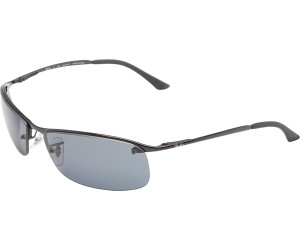 b20592f4f046c1 Buy Ray-Ban Top Bar RB3183 002 81 Polarized (black grey) from £94.74 ...