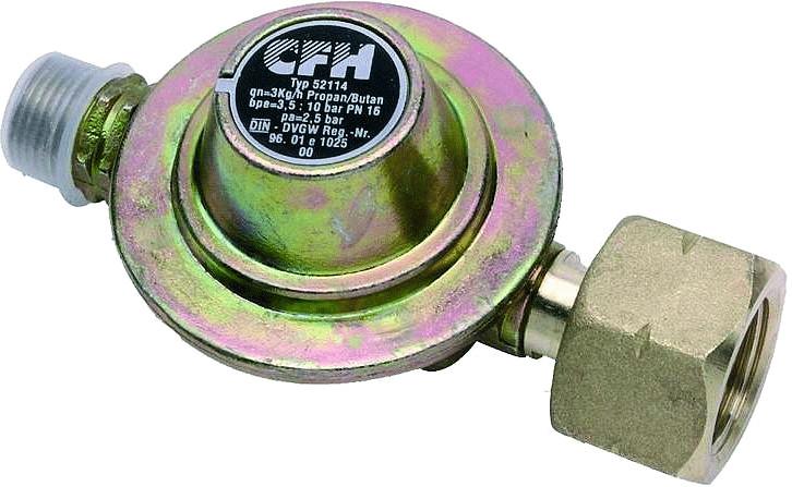 CFH Propan-Druckregler DR114 2,5 bar (52114)