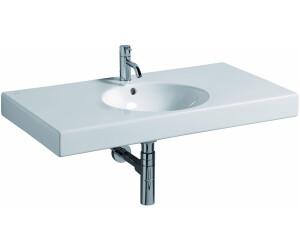 keramag preciosa ii waschtisch 90 x 50 cm 123290 ab 258 31 preisvergleich bei. Black Bedroom Furniture Sets. Home Design Ideas