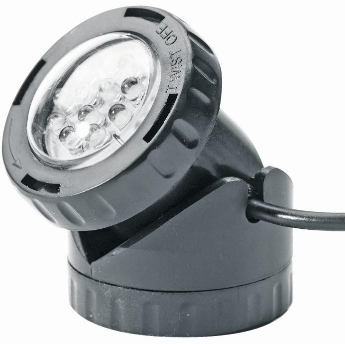 Heissner Aqua Light LED, Unterwasserspot mit Trafo und Dämmerungsschalter