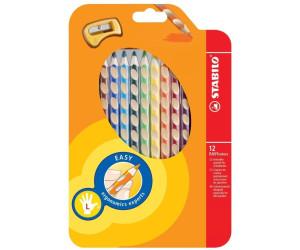Ergonomischer Buntstift für Linkshänder STABILO EASYcolors 6er Pack orange