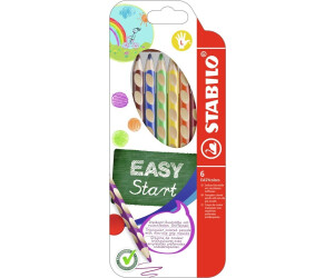 6er Etui für Linkshänder 331//6 ergonomische Buntstifte EASYcolors STABILO