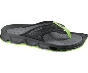 Herren Badeschuhe Salomon RX Slide Badelatschen grün