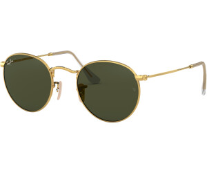 RAY BAN RAY-BAN Sonnenbrille »Round Folding Ii RB3532«, goldfarben, 001 - gold/grün