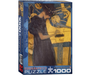 Eurographics Puzzles Gustav Klimt: Die Musik (1.000 Teile)