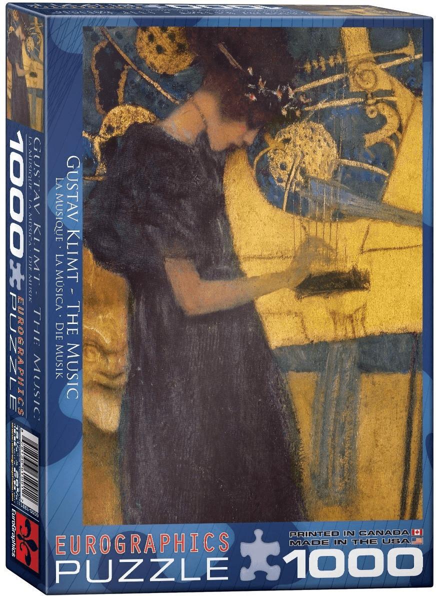 Eurographics Puzzles Gustav Klimt: Die Musik (1...